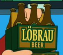 Futurama Tapped Out LoBrau Beer
