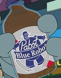 Futurama Tapped Out PBRobot Beer